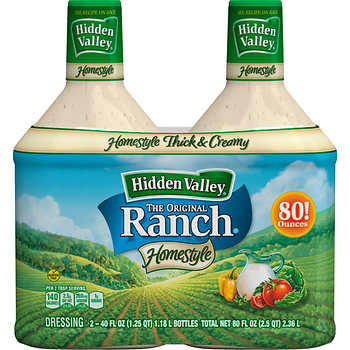 2 pack of ranch salad dressing