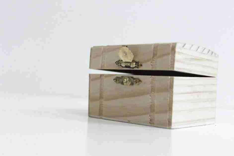 wooden box to hide secrets