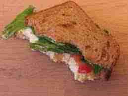 birthday half eaten sandwich