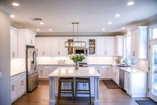 beautiful clean kitchen