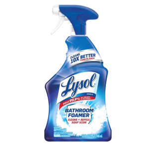 lysol bathroom spray bottle alternatives
