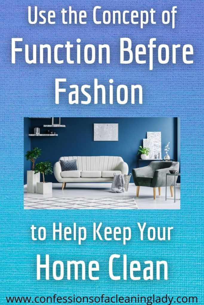 """""""Use the concept of function before fashion"""" with clean modern living room"""