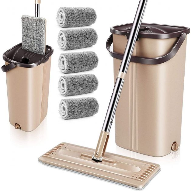 mop bucket cleaning system