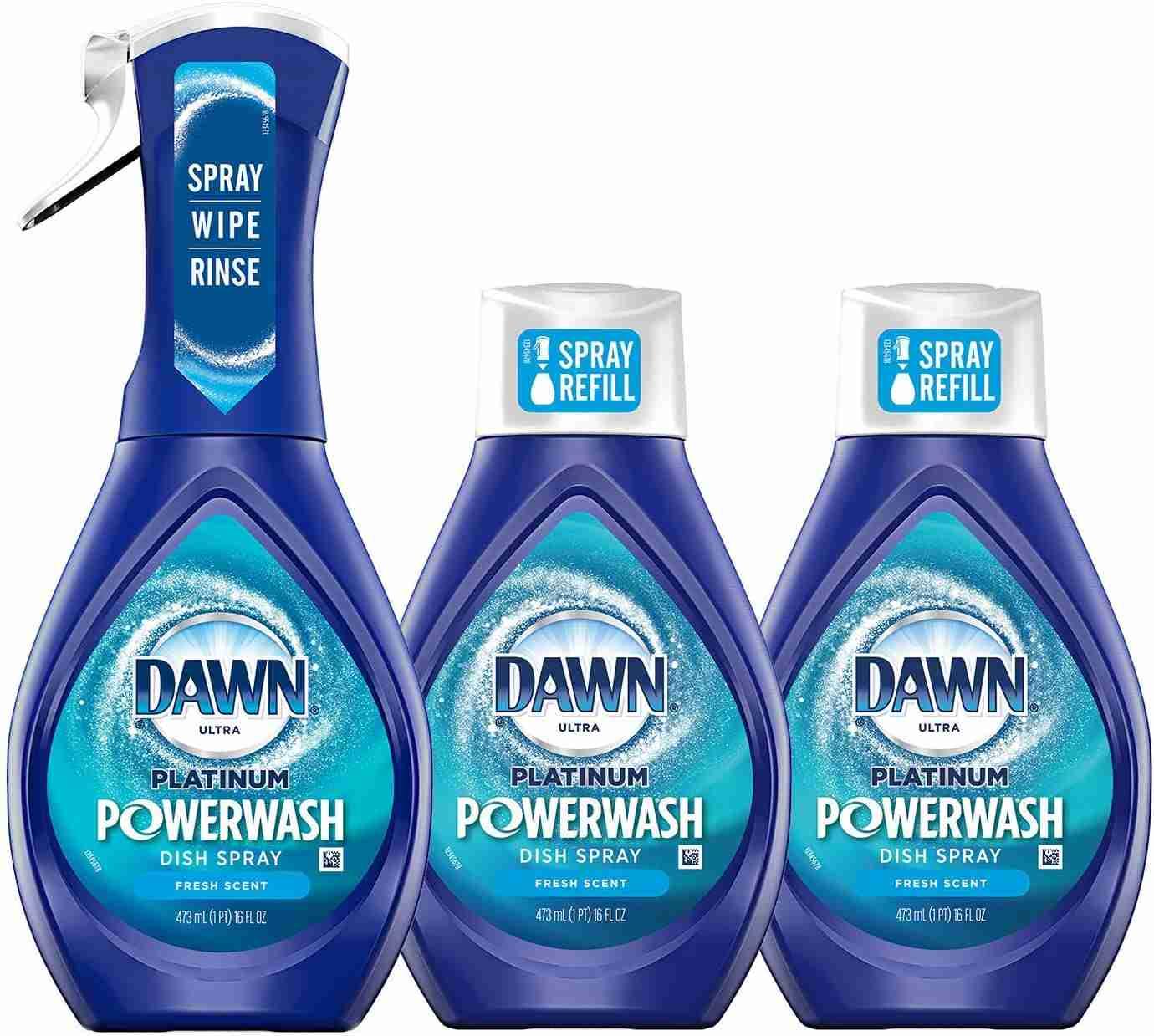 dawn powerwash spray