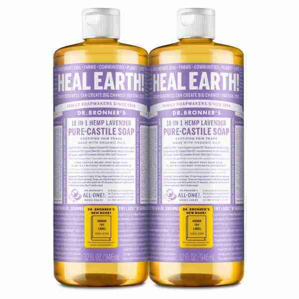 dr. bronner's lavender soap