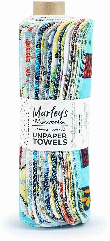 marley's monsters unpaper towels