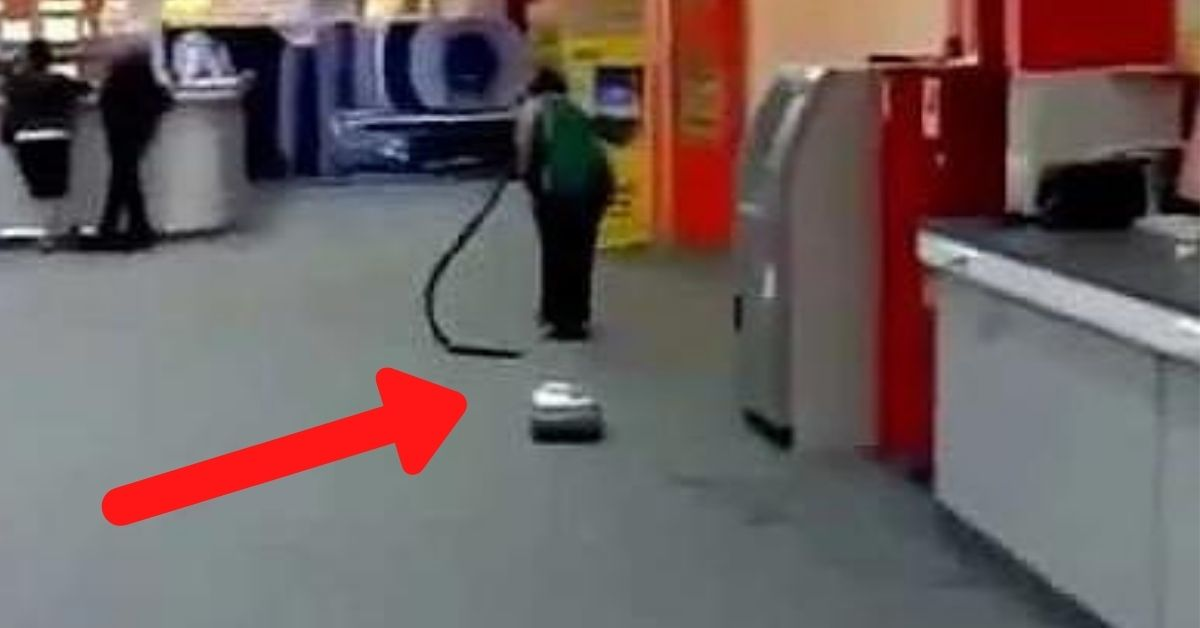 vacuum cleaner fails lady vacuuming with no hose