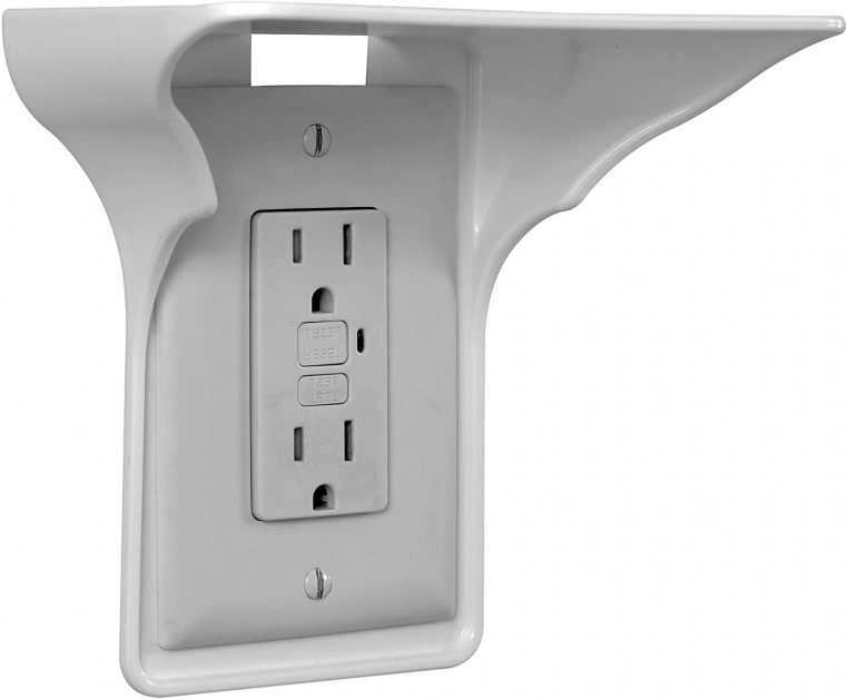 power perch outlet space saver on electrical outlet